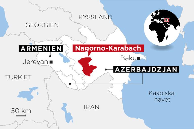 Nagorno-Karabach – en kaukasisk krutdurk