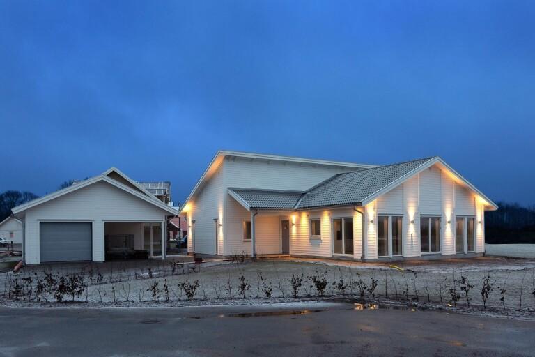 Klicktoppen: Stort intresse för nybyggd villa i Ljungbyholm