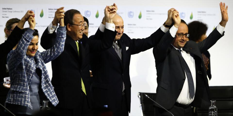 Miljökonferenser och politikerlöften som här i Paris 2015 har inte fört kampen mot klimatkrisen framåt, enligt forskare.