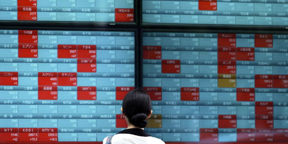 Börserna i Asien inledde handelsdagen något uppåt. Arkivbild.