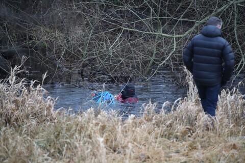 Polisen dök efter Emilia i Vramsån
