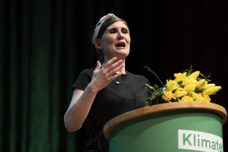 Märta Stenevi valdes på Miljöpartiets kongress 2019 till ny partisekreterare.