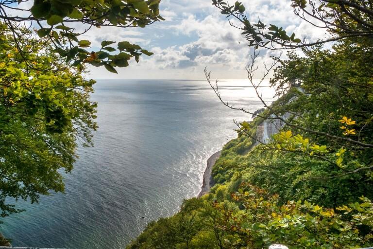Romantisk utsikt hotas av erosionen