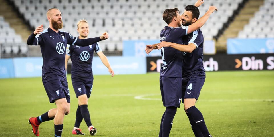 Malmö fick jubla mot Lokomotiva Zagreb, som besegrades med 5–0.