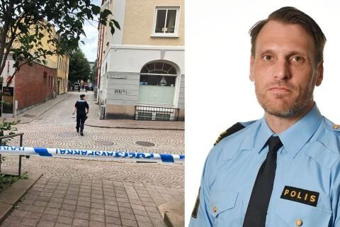 Efter skjutningen – polischefen i möte med kommunledningen
