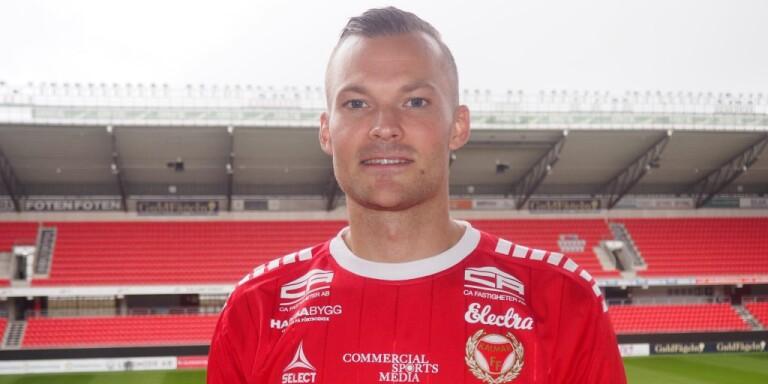 Färjestadensonen Rasmus Sjöstedt är klar för spel antingen i Allsvenskan eller Superettan med KFF nästa säsong...