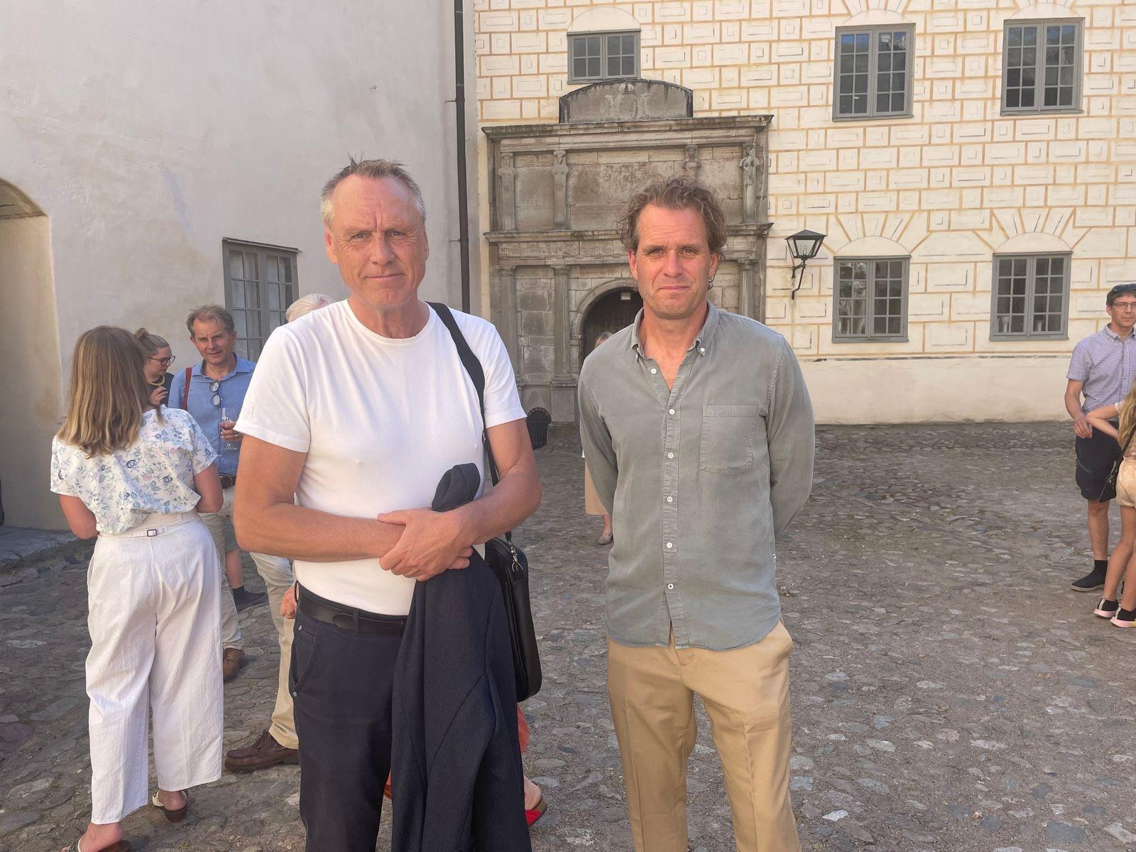 En duo från Destination Kalmar var på plats. Åke Andersson som är Vd tillsammans med Lasse Johansson (S) som är ordförande för bolaget.