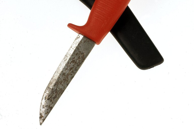 I väntan på fängelsetraff: Fick dagsböter för kniv på allmän plats