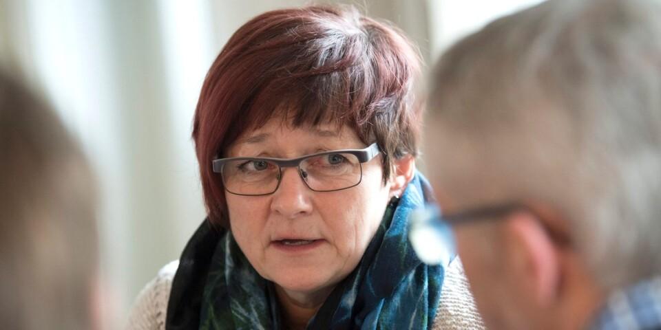 Carina Centrén, regionchef för Svenskt Näringsliv i Blekinge, följer läget efter valet.