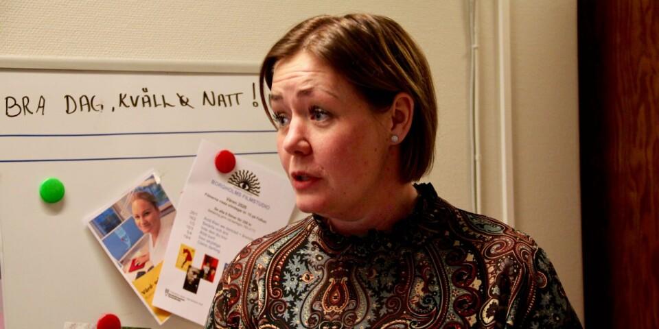 Socialchefn Anna Hasselbom Trofast meddelar att en omsorgstagare inom hemtjänsten i Borgholms kommun smittats av coronaviruset.
