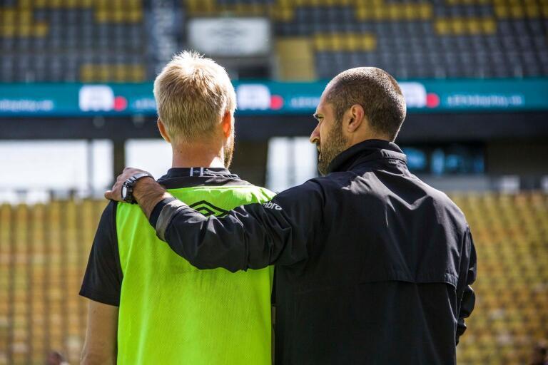 Snart blir det match på Borås Arena igen om än utan publik. Publiken får se Johan Larssons återkomst på tv.