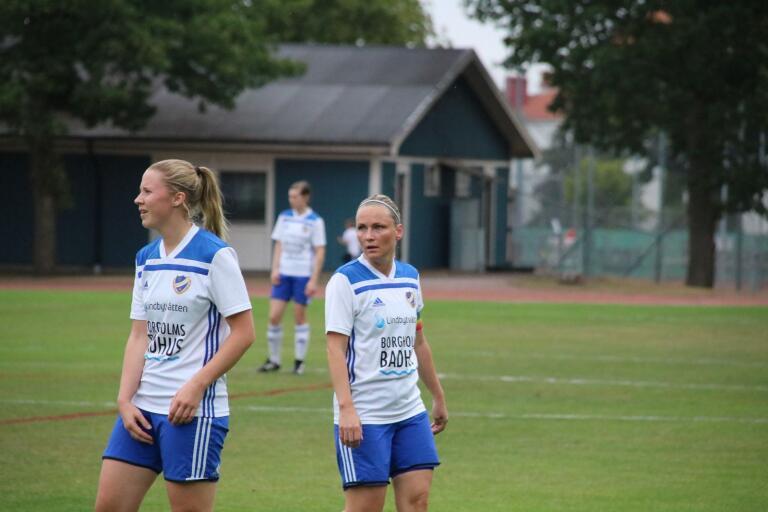 IFK Borgholm och Sabrina Petersson kom inte närmre än 2-3.
