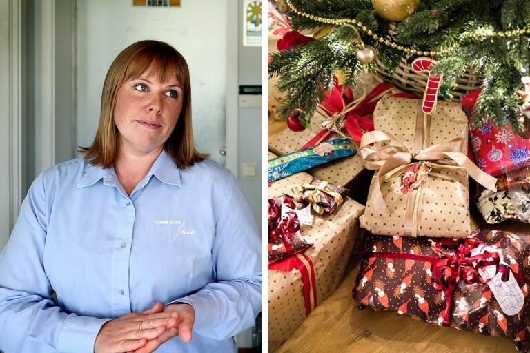 Nya greppet – bussbolaget kör julklappar istället för julfirare