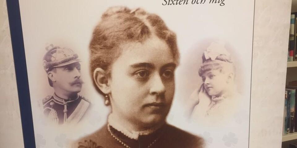 Bokomslaget till Kathinka Lindhes bok med Luitgard Sparre som huvudperson.