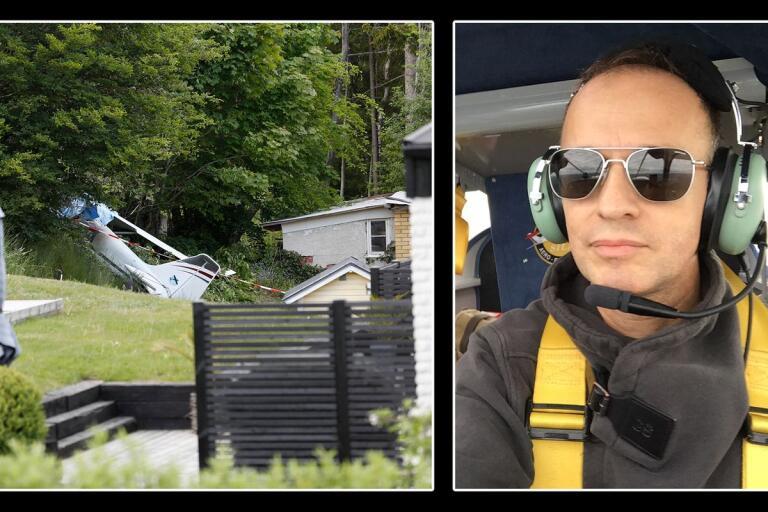 """Piloten och klubbmedlemmen om olyckan: """"Bedrövad"""""""