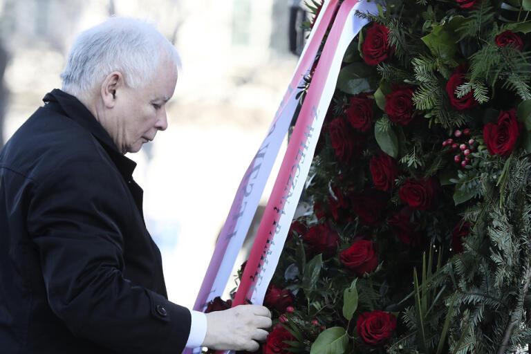 Jaroslaw Kaczynski är ledare för det styrande partiet Lag och rättvisas (PIS). Arkivbild.