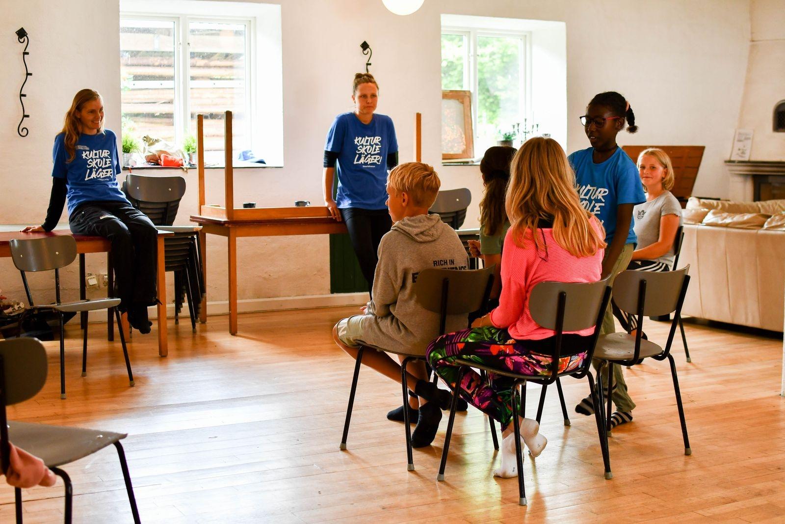 Fyrtio elever, i åldrarna 10-15 år, från Kulturskolans ordinarie verksamhet deltog i lägret. Lägerdeltagarna fick bland annat prova på drama under ledning av dramapedagog Freja Norrman.