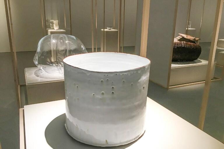Österlensk keramik i de fina salongerna