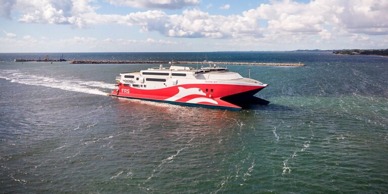 New fast ferry to Germany