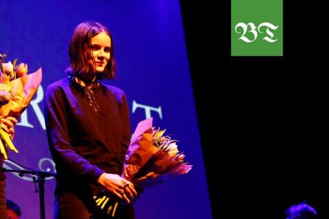 Jolina Petrén, 17 år,  tog hem segern i Lilla Debutantpriset