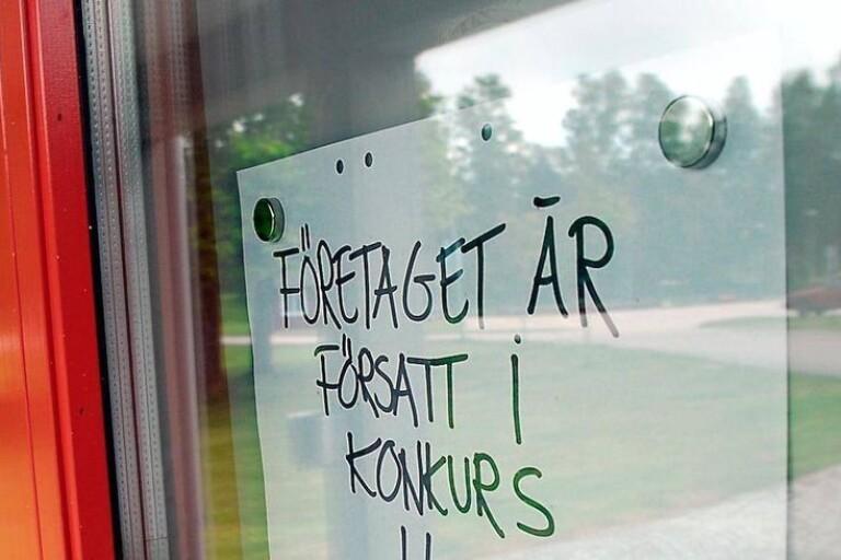 Ett Boråsbolag i konkurs