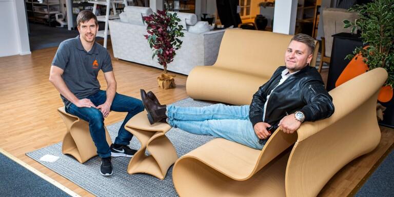 Lokalt möbelföretag med sikte på Dubai