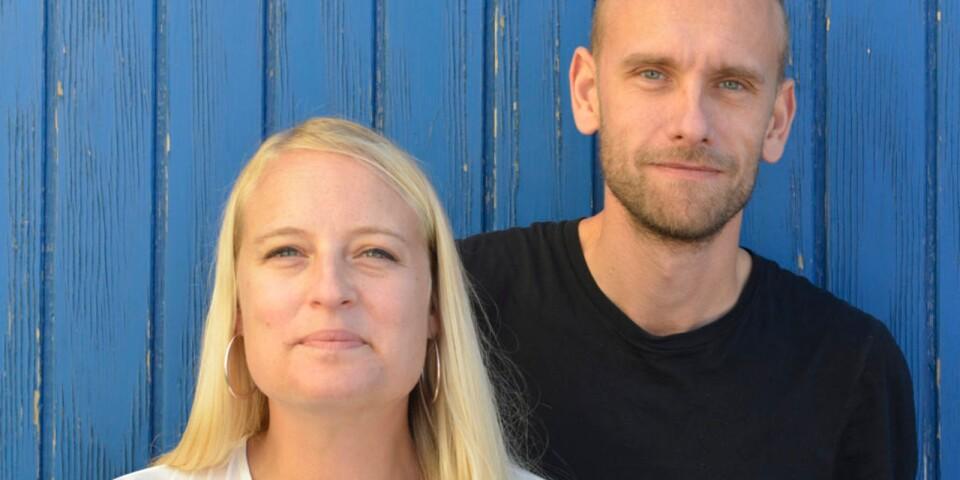 Mia Carlsson, verkställande teaterchef och Daniel Rylander, konstnärlig teaterchef.