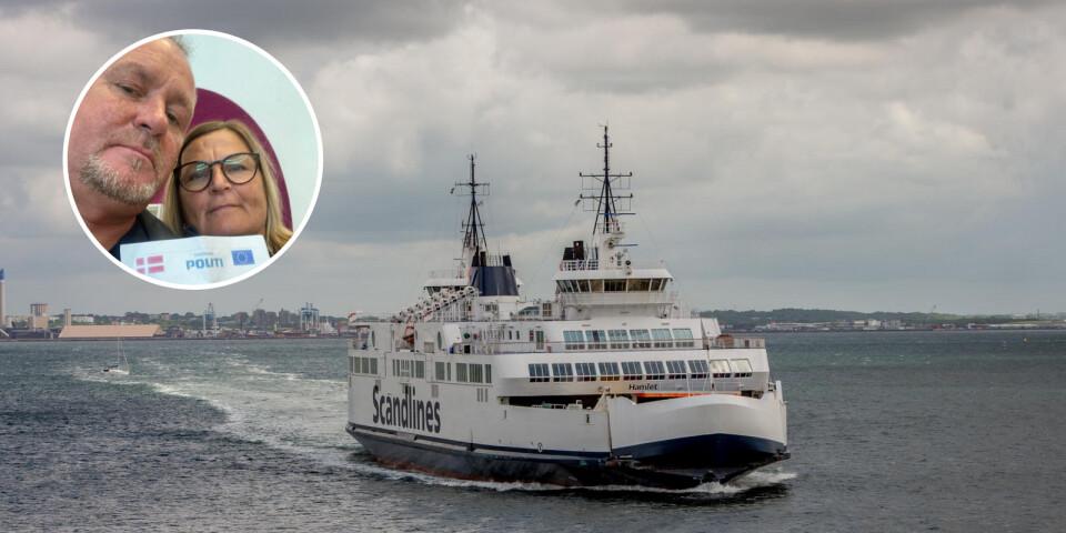 Polisen fotograferade Åsa och Håkan Sigvardssons körkort, innan de återvände till Sverige.