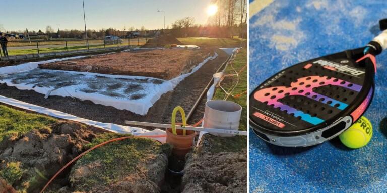 Klart: Högsby får en egen padelbana – arbetet är i gång