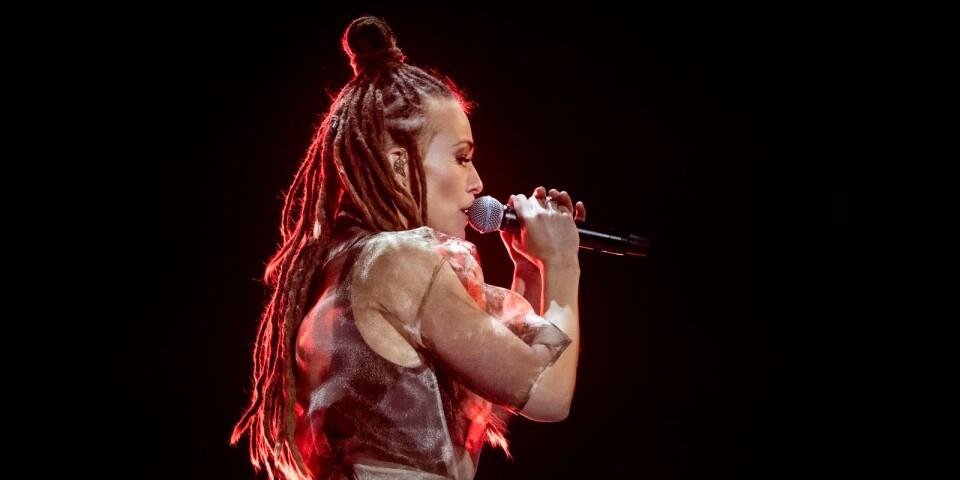 """LULEÅ 20200213 Mariette är förhandsfavorit med """"Shout it out""""."""