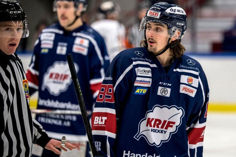 Erik Brissle har förlängt med Krif Hockey.