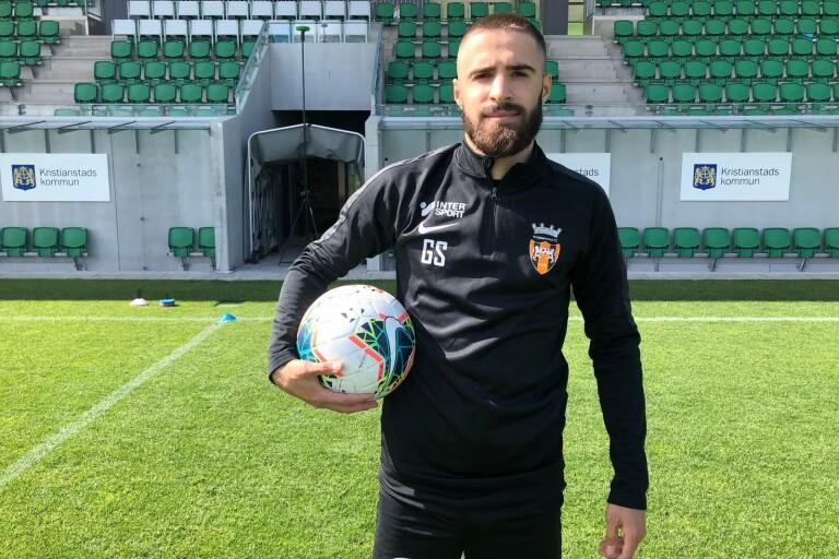 Edonis Krasniqi har klart med ny klubb