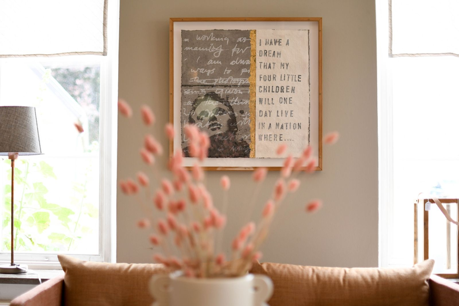 Hos nyöppnade CanCan hittar kunderna inspiration kring hur inredning och konst kan samverka.