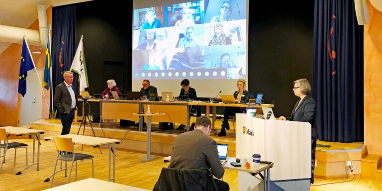 Budgetdebatten i Rydal fick avbrytas förra veckan och ska återupptas på torsdagskvällen.