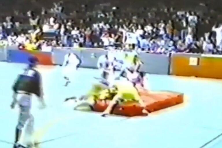 1988: Här ser du killmatchen i skolrugbyn