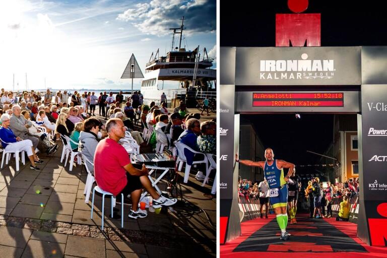 Hamnfesten i Färjestaden blir förfest till Ironman