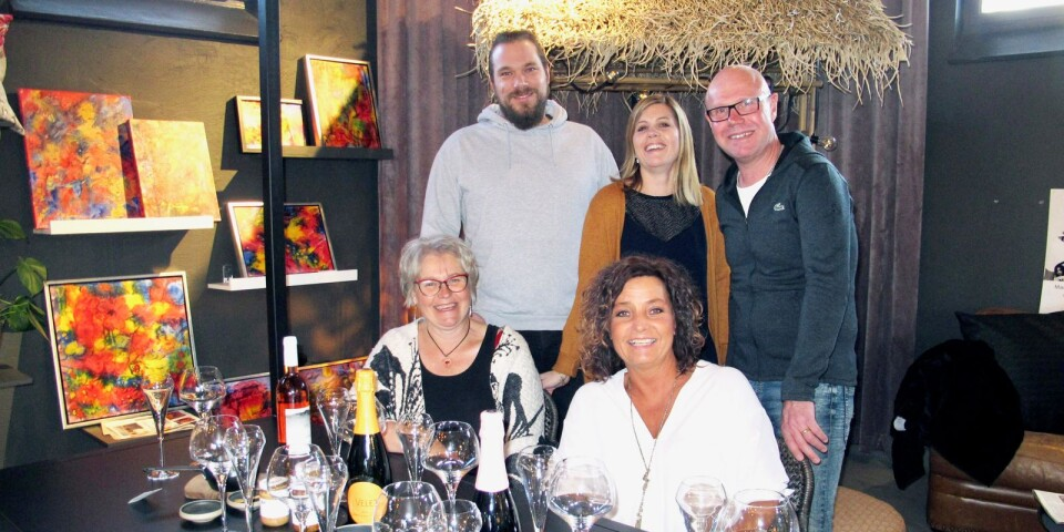 Frida Åkesdotter på Fridas Design, Maria och Ola Johansson på OM.DuoVin och Jacob Berg på Kronolaxen, inleder samarbete.