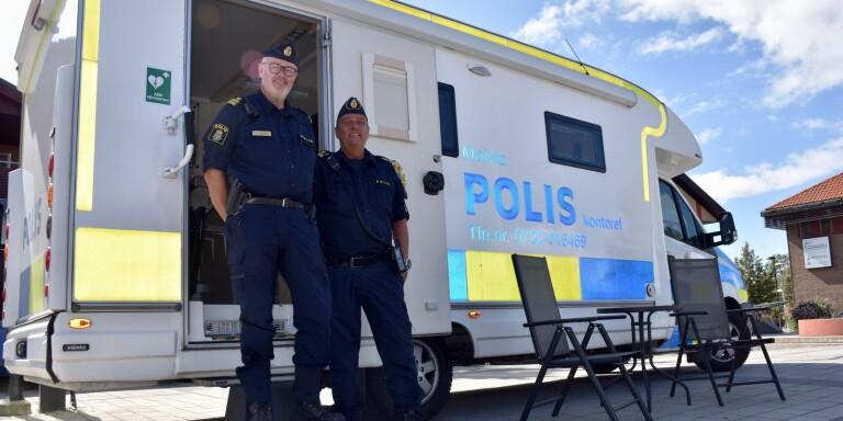 Två polisstationer stängs