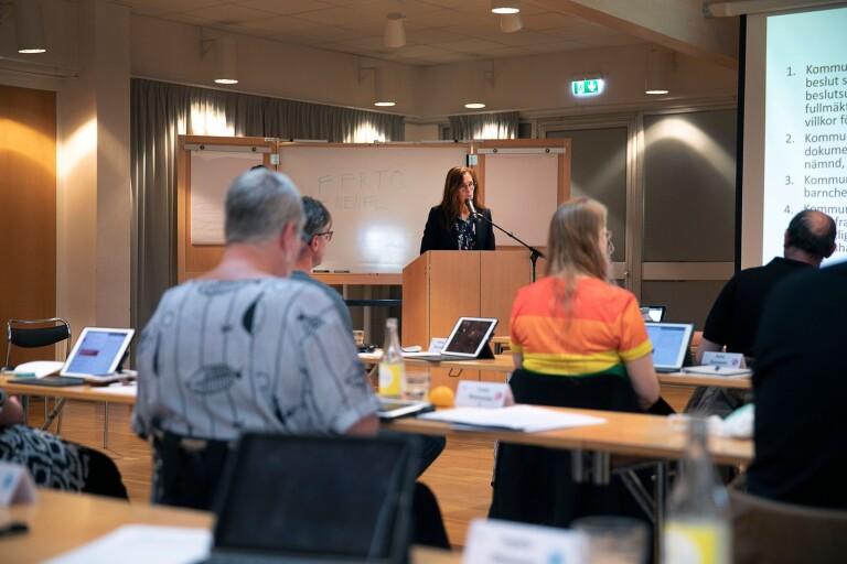 Nedtonad budgetdebatt i kommunfullmäktige