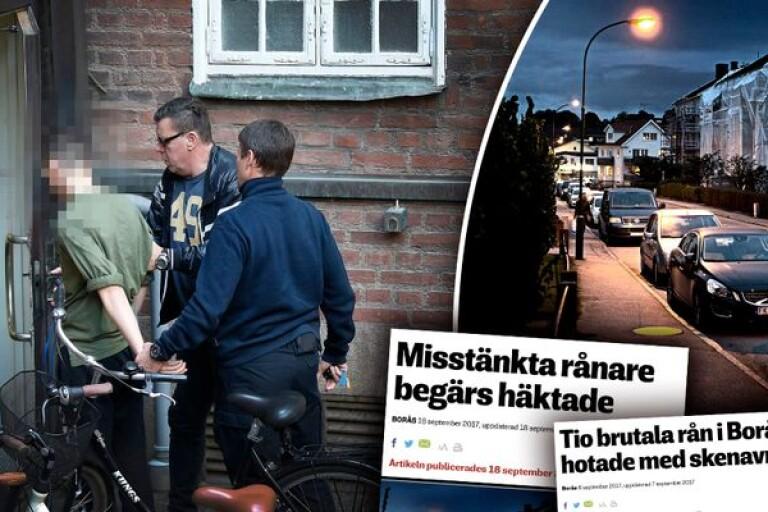 Efter rånvågen: Tre unga killar åtalas