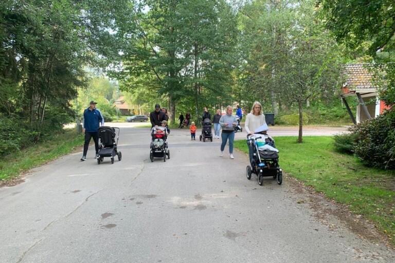 Promenad gav 6 400 kronor i bidrag till kampen mot barncancer