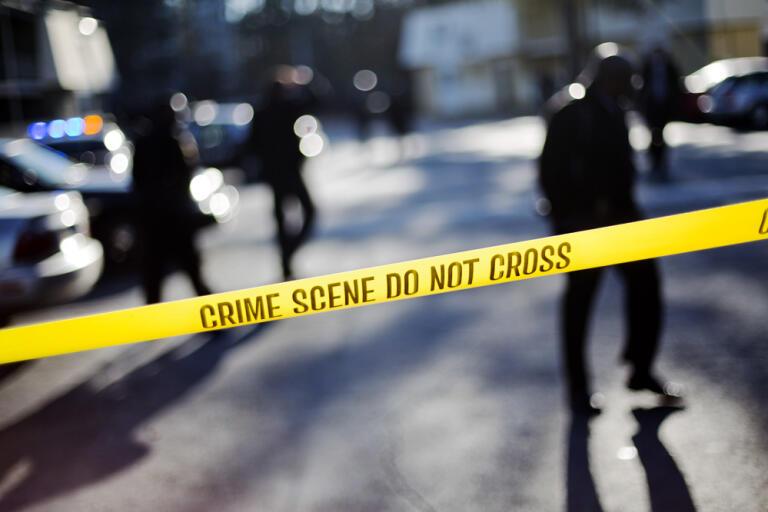Sju vuxna har hittats döda i ett hus i Valhermoso Springs i norra Alabama i USA, efter larm om skottlossning. Arkivbild.