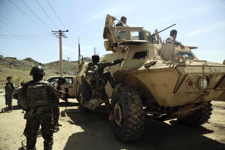 Våldsamma strider mot talibaner i Afghanistan