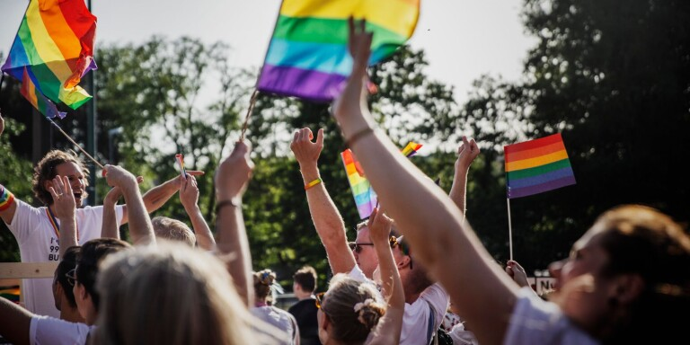 Borås Prideparad 2019. Genrebild pride hbtq+