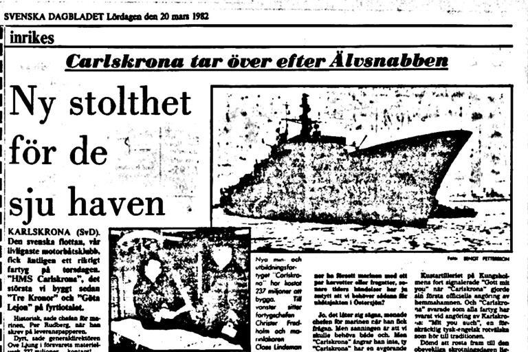 Gits Olssons reportage i Svenska Dagbladet, mars 1982.