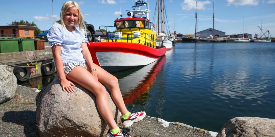 Matilda Bergström deltar i fototävling för barn och ungdomar i Skillinge.