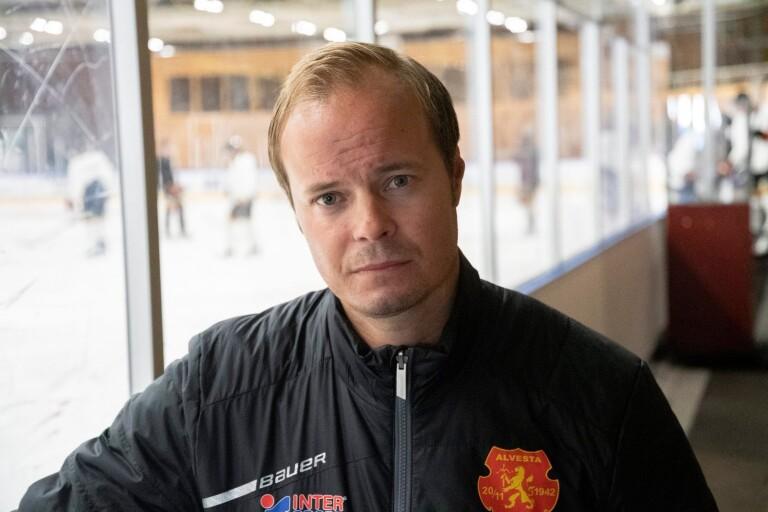 Peter Andersson sportchef i Alvesta SK.