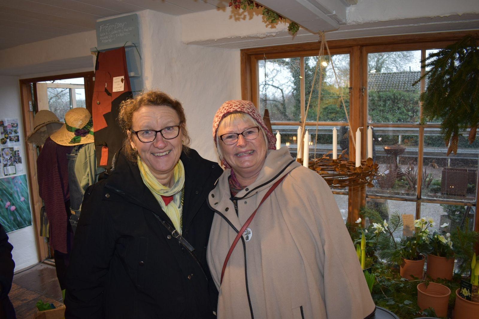 Anneli Ersbacken och Marianne Martinsson besöker ofta Vickleby.