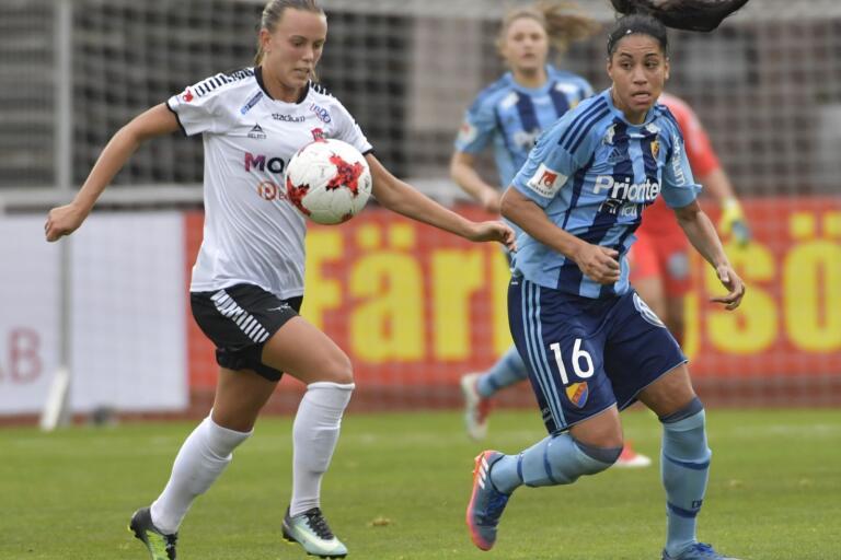 Elin Björklund har bytt LB07 mot Malmö FF denna säsong.