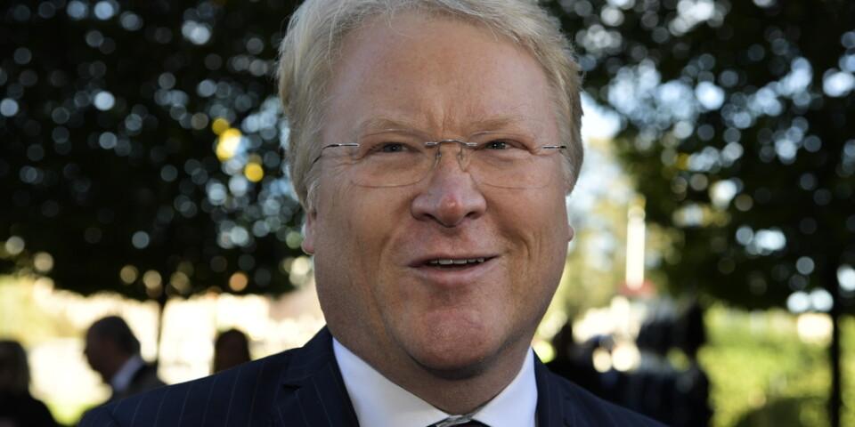 Kristdemokraternas utrikespolitiske talesperson Lars Adaktusson anser att Kinas Sverigeambassadör har gått över en gräns och bör skickas ut. Arkivbild.